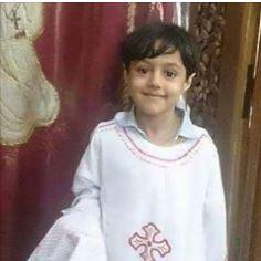 حقيقة استشهاد الطفل مكاريوس في أحداث التفجير