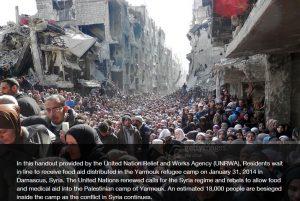 حقيقة صورة تزاحم لسكان حلب