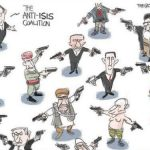حقيقة صورة مصر في كاريكاتير عالمي بيصور الحرب على داعش