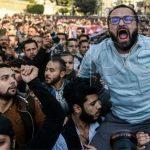 حقيقة صورة متداولة لمتظاهرين علي انهم اخوان