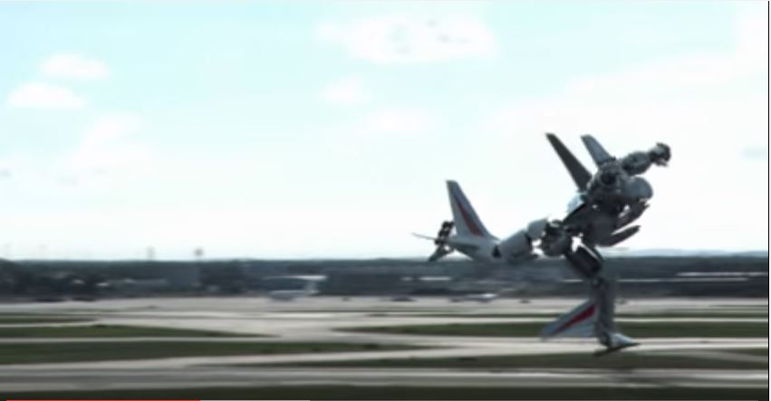 حقيقة فيديو لطيارة متحولة