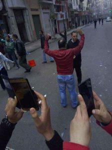 حقيقة صورة للشهيد عماد الركايبي يتصدى للانتحارى