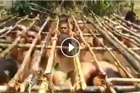 حقيقة فيديو لتعذيب المسلمين في بورما