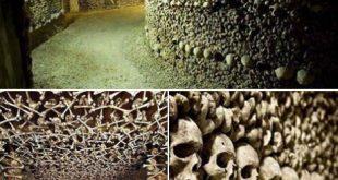 أكبر مقبرة في العالم سراديب الموتى في باريس
