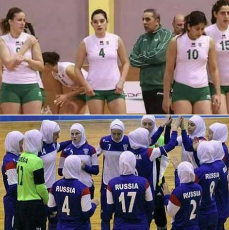 حقيقة مبارة الجزائر وروسيا في التضامن الاسلامي