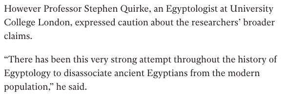 حقيقة دراسة قالت ان المصريون الحاليون ليسوا فراعنة