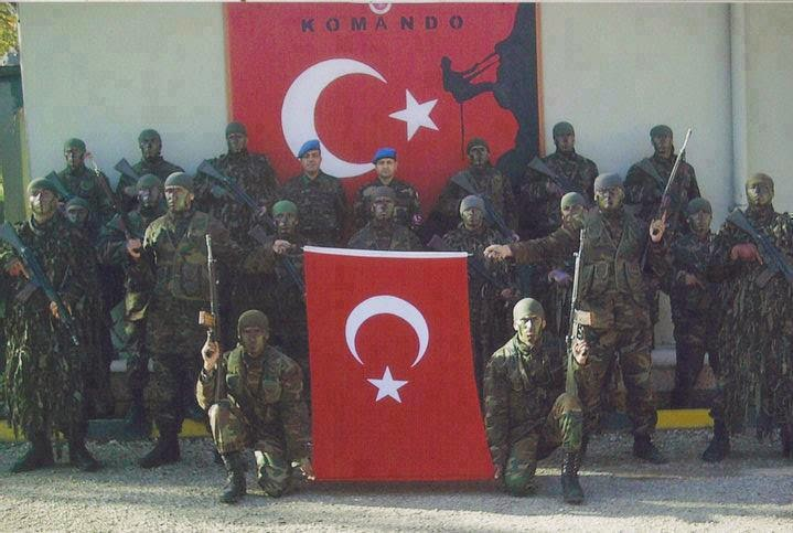 حقيقة حمل الجيش التركي لعلم قطر
