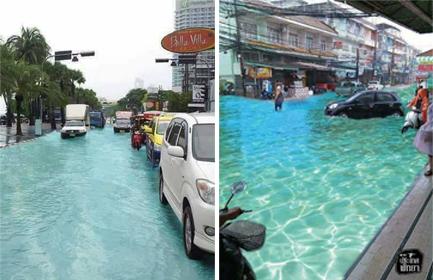 حقيقة نظافة شوارع ماليزيا بعد الفيضان