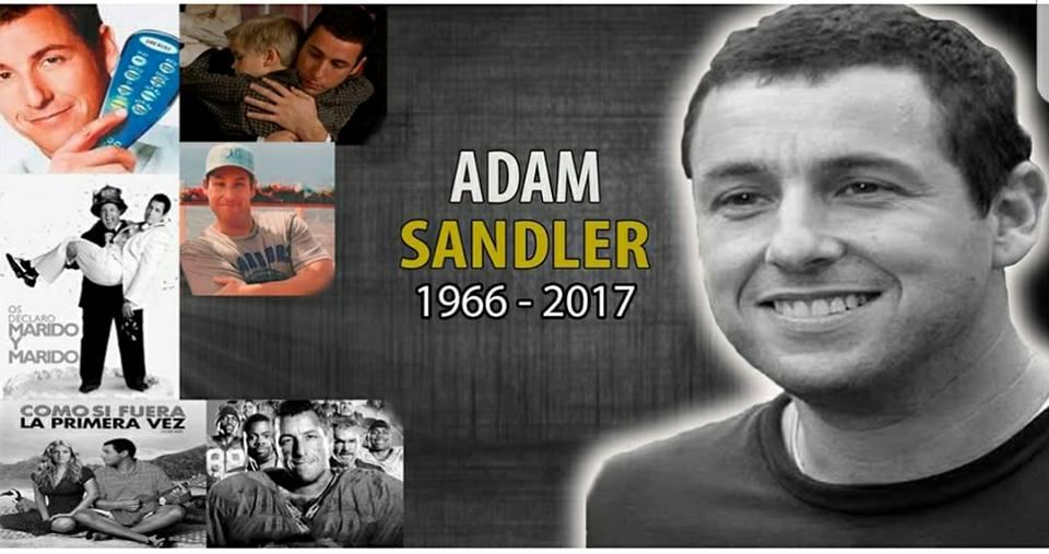 حقيقة وفاة الفنان ادم ساندلر