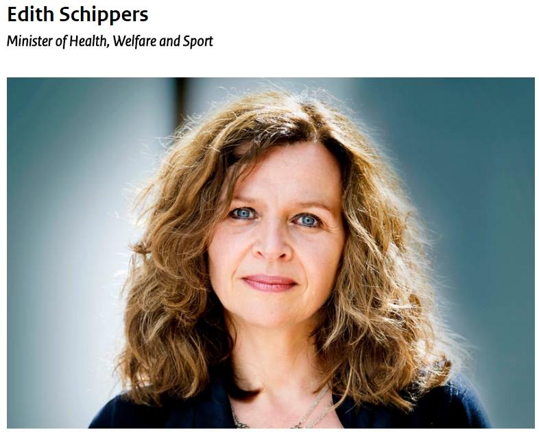 حقيقة صورة وزيرة الصحة الهولندية