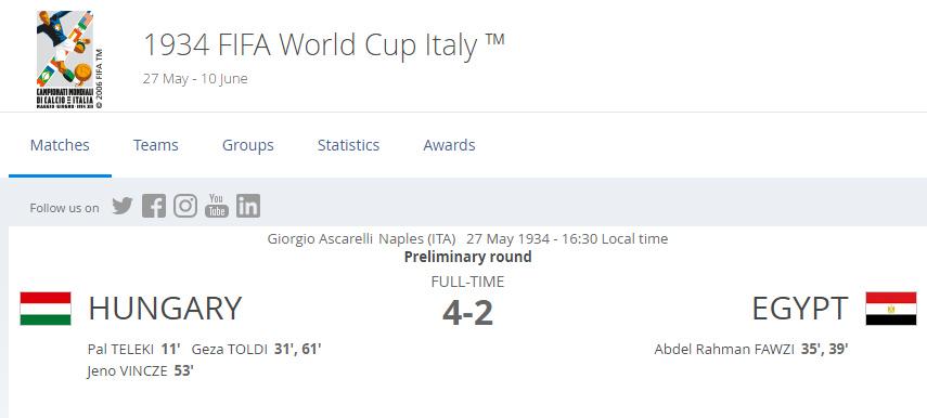 حقيقة أن مجدي عبد الغني هو اللي جاب هدف مصر الوحيد في كأس العالم