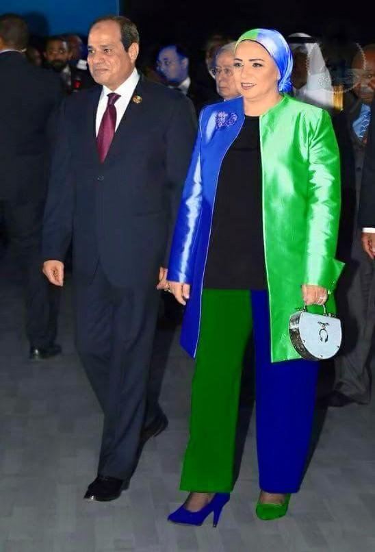 حقيقة ملابس زوجة الرئيس السيسي