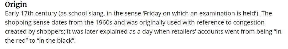 حقيقة تسمية الـBlack Friday بالاسم ده