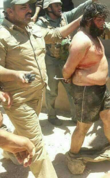 حقيقة صورة القبض على مدبر هجمات مسجد الروضة