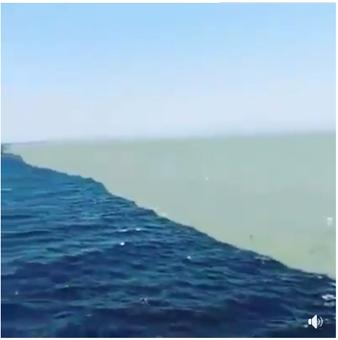حقيقة نقطة التقاء المحيط الاطلسي والمحيط الهاديء