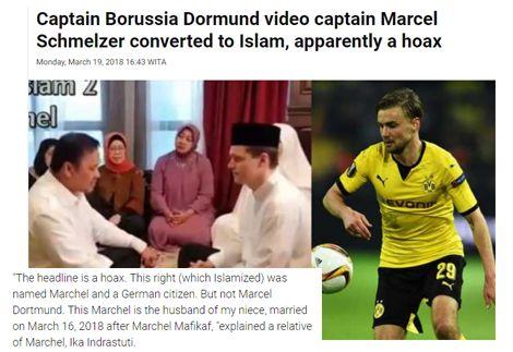 حقيقة إسلام اللاعب مارسيل شميلزر
