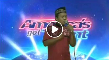 حقيقة فيديو اندونيسي يمدح الرسول في برنامح AGT