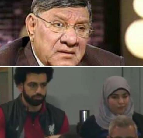 حقيقة تصريح مفيد فوزي عن محمد صلاح وزوجته