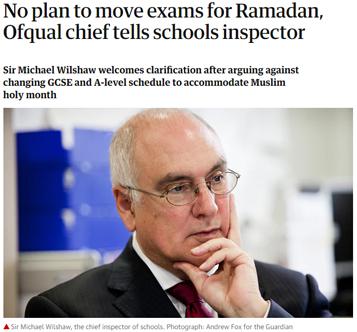 حقيقة تغيير بريطانيا لموعد الامتحانات بسبب توافقها مع رمضان