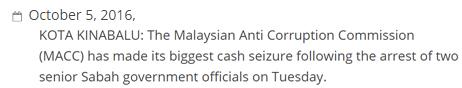 حقيقة فيديو للاموال المتحفظ عليها من منزل رئيس وزراء ماليزيا السابق