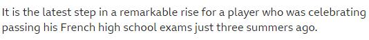 حقيقة سقوط مبابي في الثانوية الفرنسية