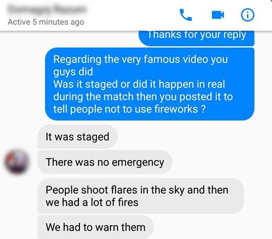 حقيقة فيديو رجال المطافئ الكرواتيين