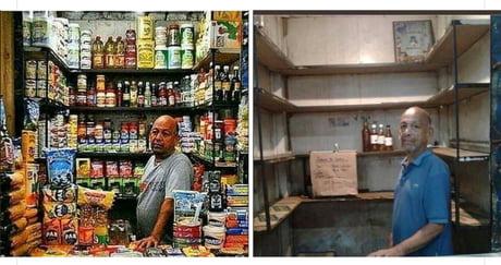حقيقة صورة صاحب محل في مصر