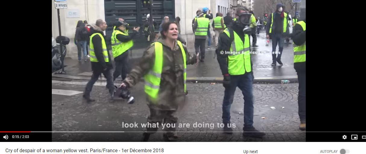 حقيقة فيديو شرطية فرنسية و كلامها عن العرب