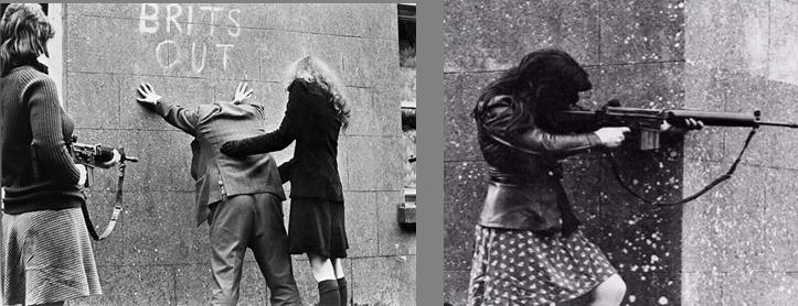 حقيقة صورة فتاة تطلق النار من بندقية حبيبها