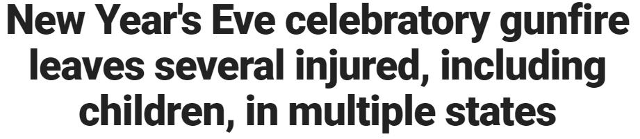 حقيقة عدم خطورة ضرب الرصاص في الهوا