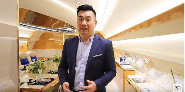 حقيقة فيديو الطائرة الرئاسية الفارهه