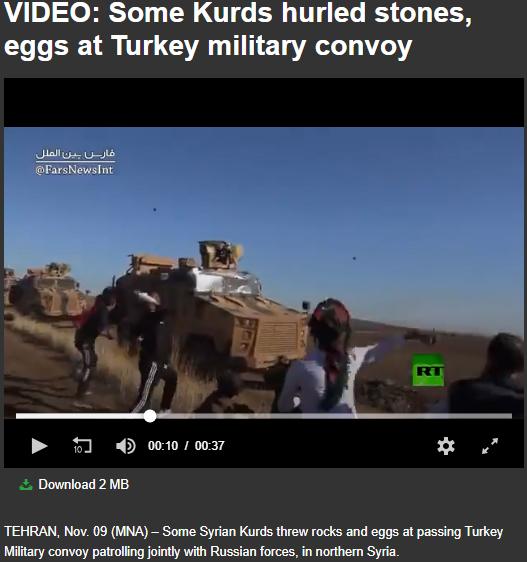 حقيقة فيديو استقبال المدراعات التركية في ليبيا