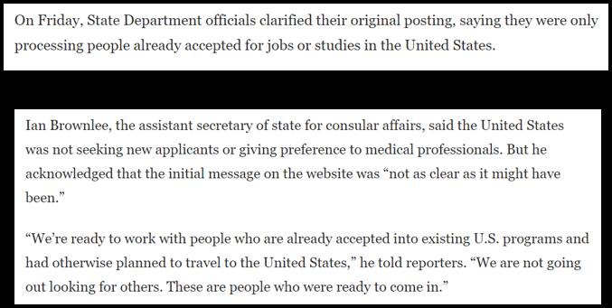 حقيقة اعلان امريكا حاجتها للاطباء من كل دول العالم