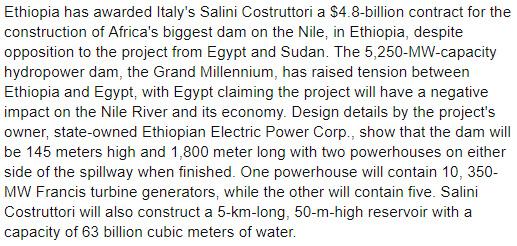 حقيقة مساهمة نجيب ساويرس في بناء سد النهضة