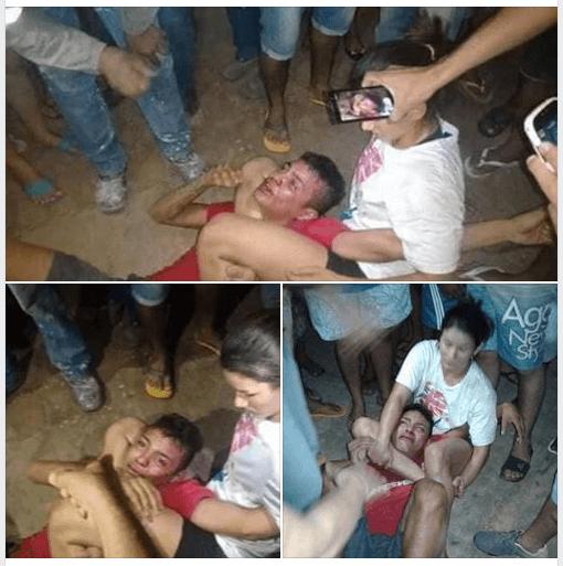 حقيقة صورة ضرب فتاة للص متحرش