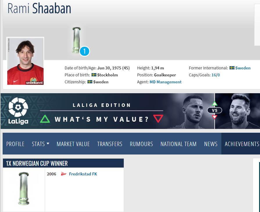 حقيقة ان محمد صلاح مش أول لاعب مصري يفوز بلقب الدوري الانجليزي