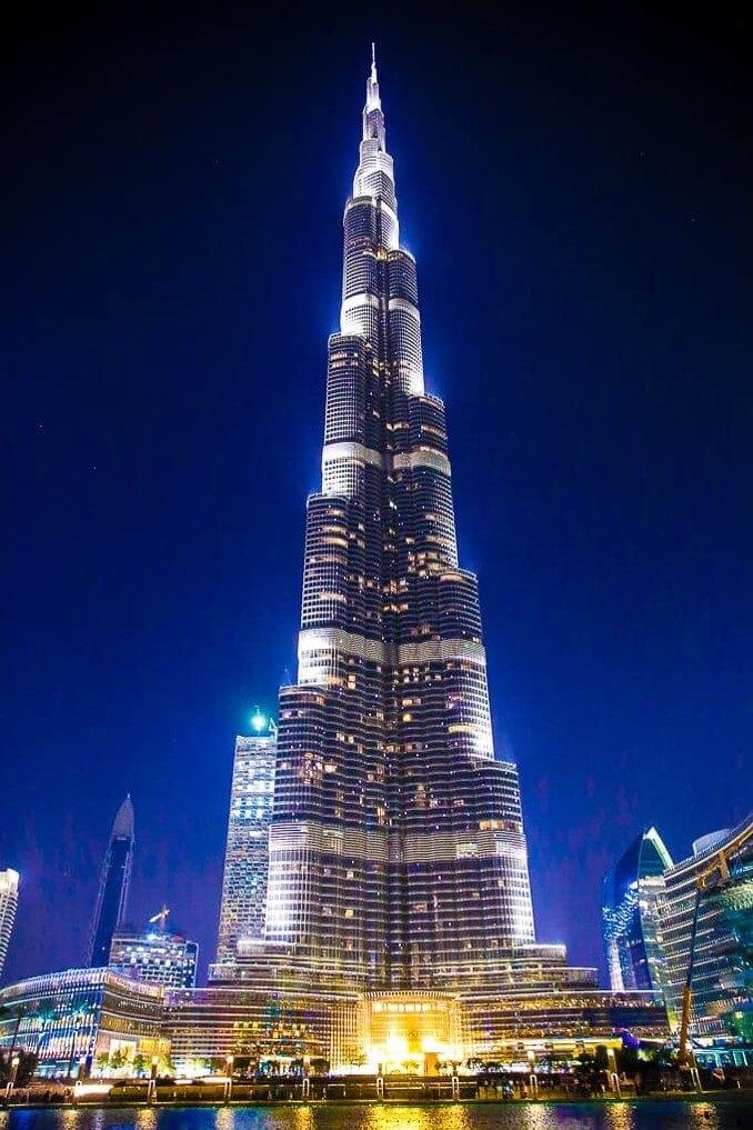 حقيقة صورة علم اسرائيل على برج خليفة