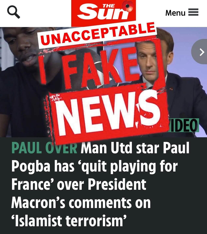 حقيقة إعتزال بول بوجبا اللعب الدولي بعد تصريحات ماكرون