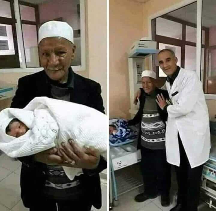حقيقة ولادة طفل لشيخ ثمانيني وسيدة ستينية في المنيا