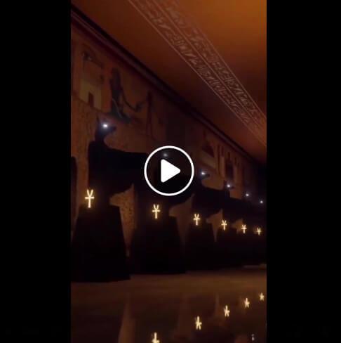 حقيقة تسريب فيديو من افتتاح المتحف المصري الكبير